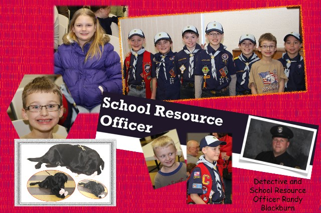 School Resources Officer and kids